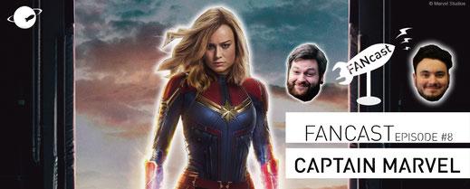 FANwerk FANcast Captain Marvel Podcast MCU Avengers Endgame Kino Review Blog Filmkritik Film Wertung Rezension