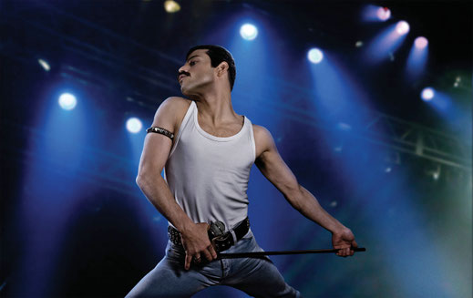 Bohemian Rhapsody Queen Film Blu-ray Check Rami Malek Freddie Mercury FANwerk Blog Film Review Behind the Scenes Live Aid Side by Side Comparison