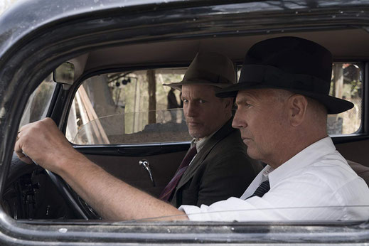 FANwerk Film Review the highwaymen Review Kritik Rezension netflix kevin coster woody harrelson