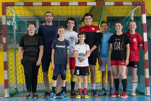 Tournoi intergénérations 2019 de la JA Isle Handball - équipe n°7