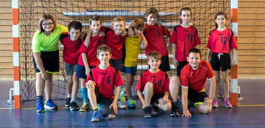 Equipe mixte des moins de onze ans - JA Isle Handball