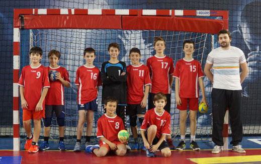 Cliquez pour afficher les photos de l'équipe des garçons -13 ans