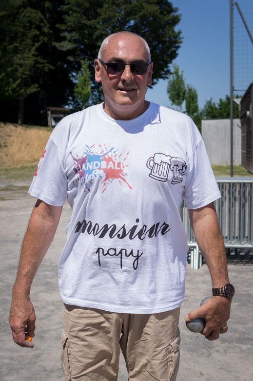 T-shirt vue de devant