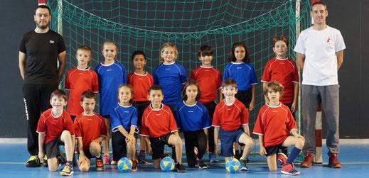l'école de hand de la JA Isle Handball