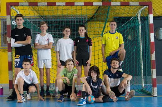 Tournoi intergénérations 2019 de la JA Isle Handball - équipe n°5
