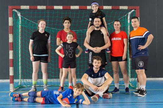 Tournoi intergénérations 2019 de la JA Isle Handball - équipe n°3