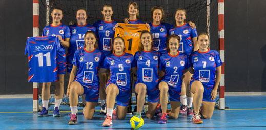 équipe féminine seniors Excellence - JA Isle Handball