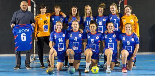 les moins de 18 ans filles Championnat de France