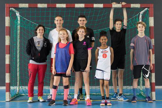 Tournoi intergénérations 2019 de la JA Isle Handball - équipe n°1