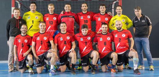 équipe masculine seniors prénationale