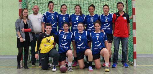 l'équipe PrenatF - JA Isle Handball-Isle