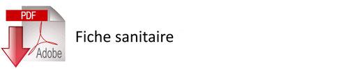 Icône cliquable pour accéder au PDF de la fiche sanitaire - JA Isle Handball - Isle