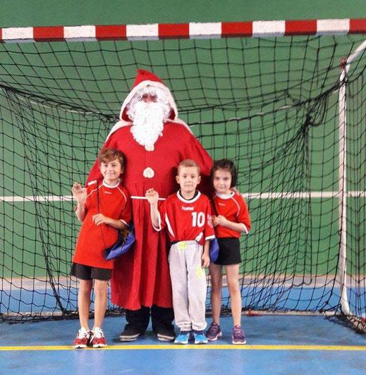 les -9 ans et le Père Noël