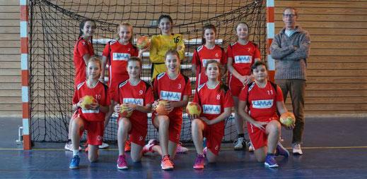 Equipe féminine des moins de treize ans