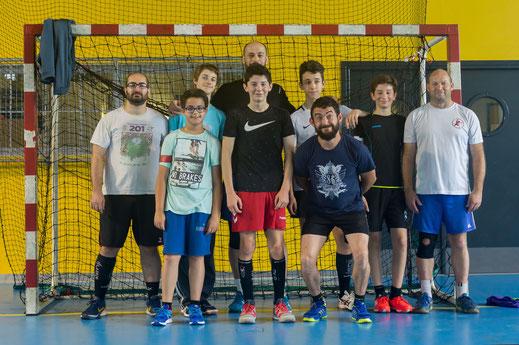 Equipe 2 du tournoi 2018