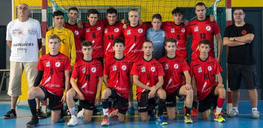équipe 1 masculine des -18 ans régionale