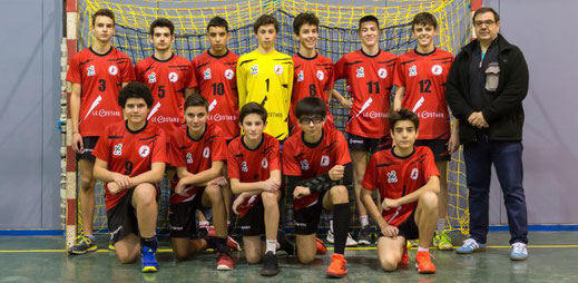 équipe 2 masculine des -18 ans régionale 2017-2018