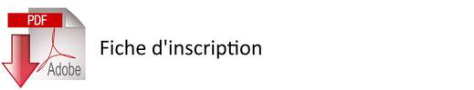 Icône cliquable pour accéder au PDF de la fiche d'inscription - JA Isle Handball - Isle