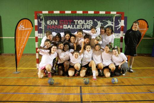 Valeurs de la JA Isle handball : l'esprit d'équipe