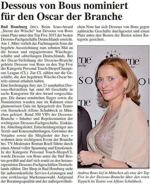 Homburger Woche 12.03.2015