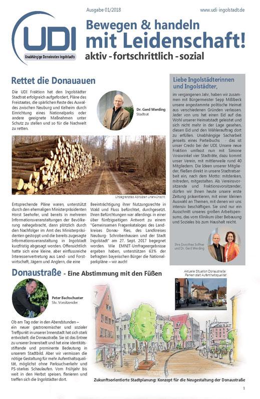 UDI Zeitung 01/2018