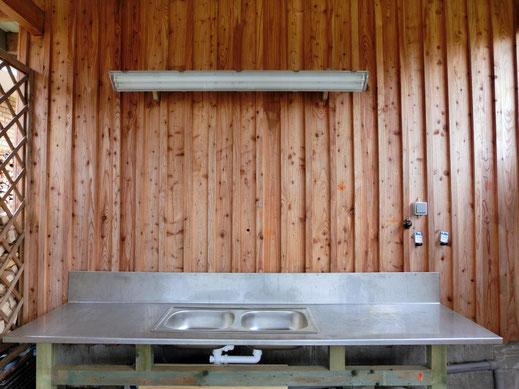 Ferienhaus mit Filetiertisch für Angler an der Ostsee