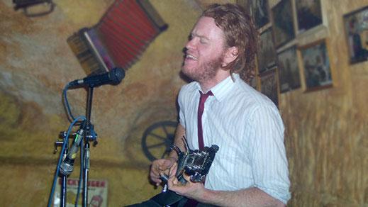 Ben Miller im Molly Malone's in Marburg, 2003 (Foto: Christian Düringer)