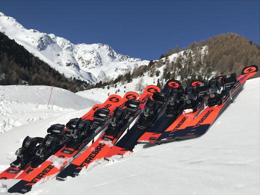 noleggio sci, val senales, maso corto, skifactory, blizzard