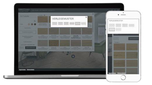 Parketthaus Scheffol Room Designer Schritt 3