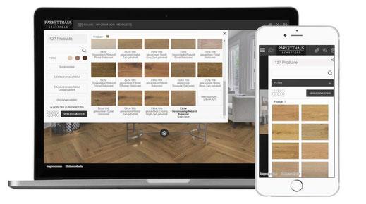 Parketthaus Scheffold Room Designer Schritt 2