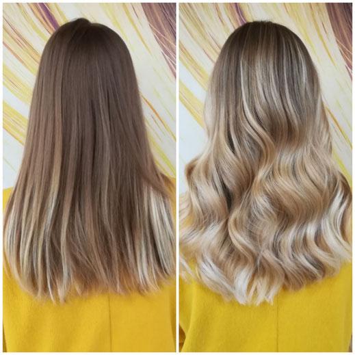 Olaplex blondieren