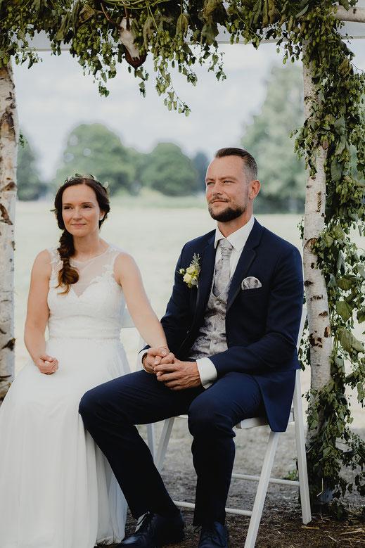 Hochzeitsfotos Feldscheune Schöbendorf