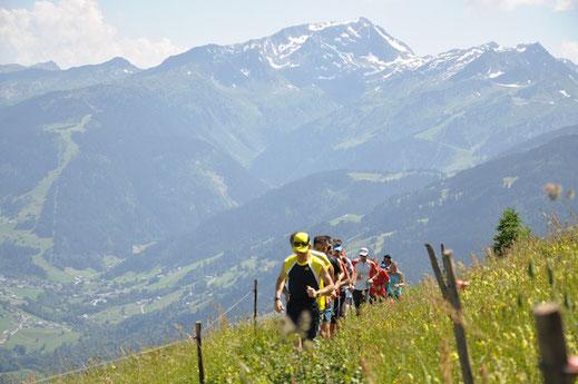 Trail aux Saisies en Savoie
