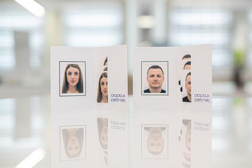 4 Passbilder für € 11,90 - biometrisch und schnell