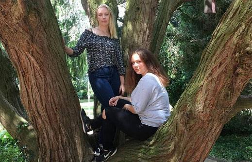 Lena und Nina aus Nordhorn