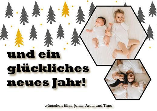 weihnachtskarten mit Foto