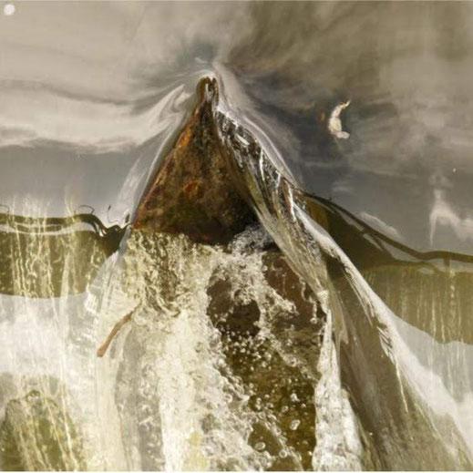 """""""Monts et cascades 631"""", Photo numérique 50 x 65 cm"""