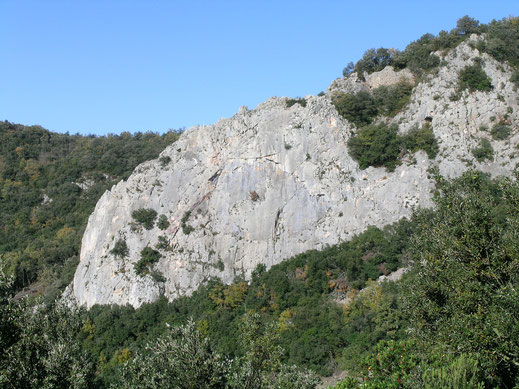 Falaise de Saint Salvayre