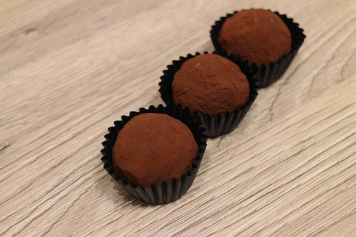 rum chocolate truffles