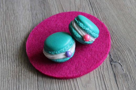 Muschel-Macarons