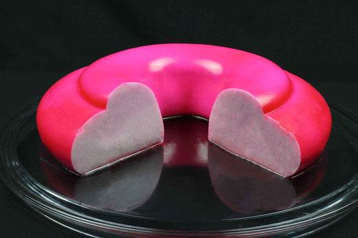 heart cake abbraccio