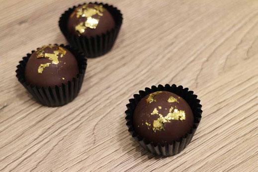 coffee rum chocolate truffles