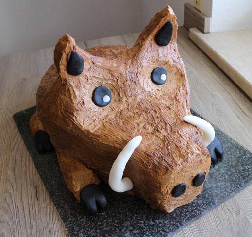 Wildschwein Torte