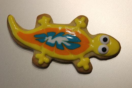 gelber Salamander Keks
