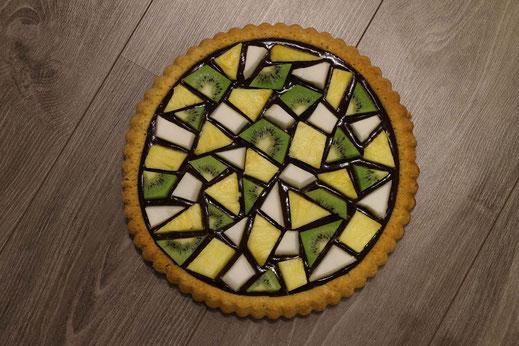 Mosaik Obstkuchen