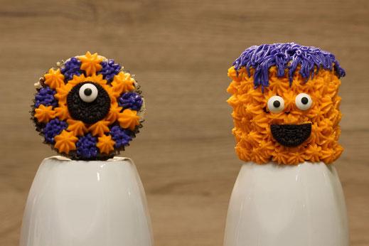 Stern und Chef Monster Cupcake