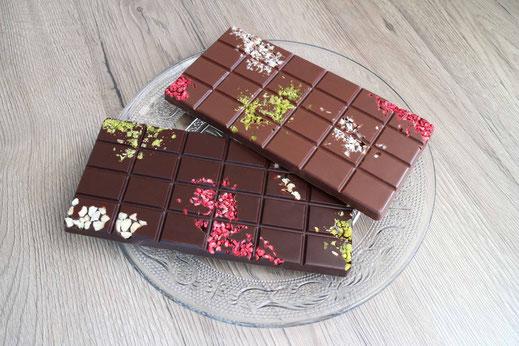 Schokolade-Tafeln