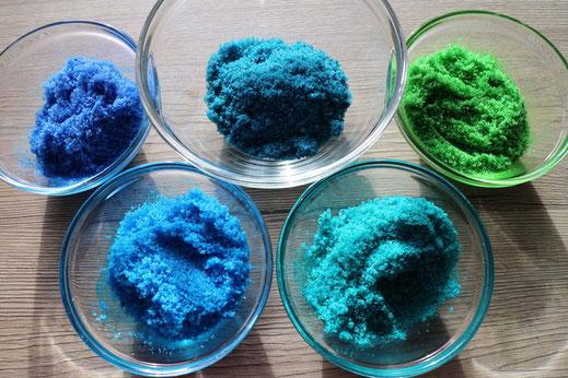 gefärbter Zucker