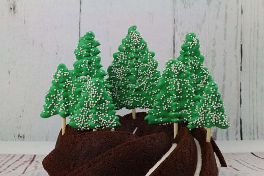 Winter-Wald-Kuchen
