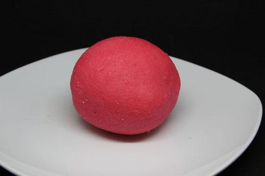 rosa gefärbtes Marzipan